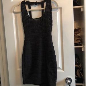 Bodycon black dress PERFECT for Vegas